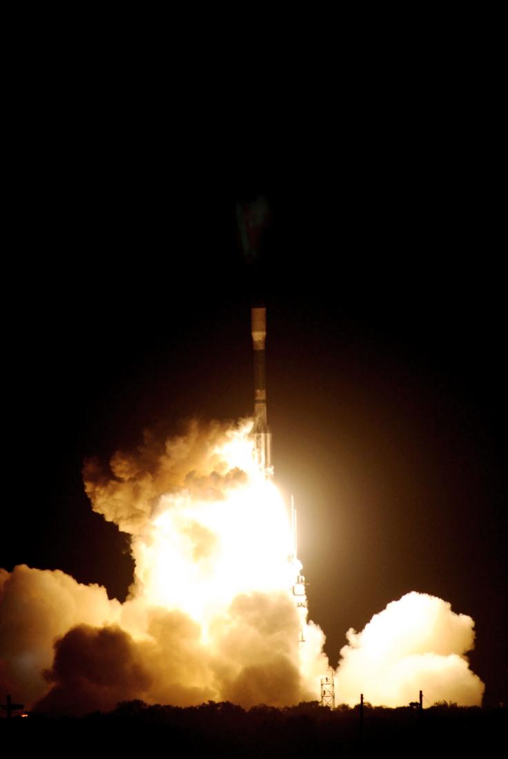 Above: Liftoff of the Delta II rocket carrying NASA's Kepler spacecraft. Image credit: NASA/Jack Pfaller