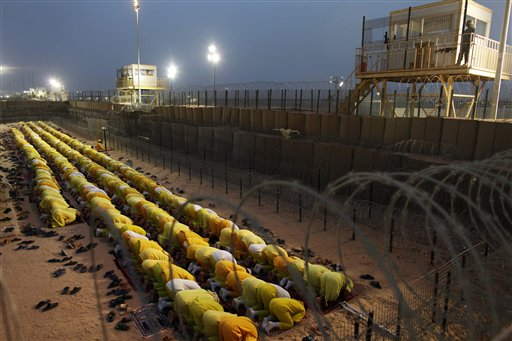 Iraq US Prison Camp