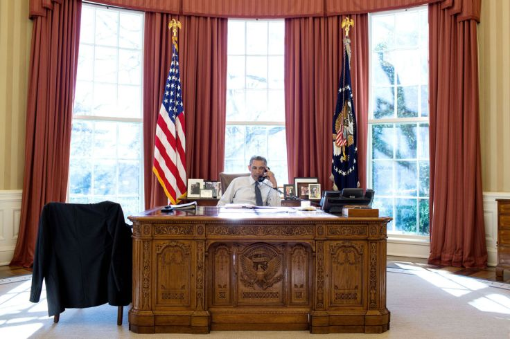 CREDITPHOTOGRAPH BY PETE SOUZA / THE WHITE HOUSE